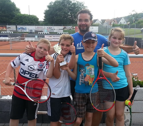 Tennis U10 Meisterschaft